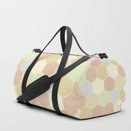 Honeycomb pastel Duffle Bag