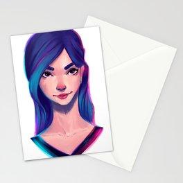 Hidden smile Stationery Cards