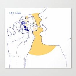 Carpe Omnia Canvas Print