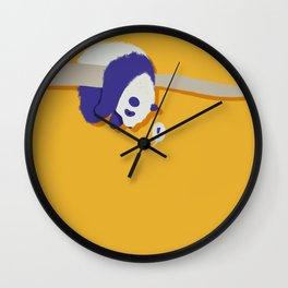 Stuck Panda Wall Clock