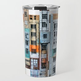 NEW-YORK PATCHWORK Travel Mug