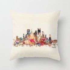 pittsburgh  Throw Pillow