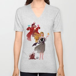 Sleeping Beauty - Once Upon a Dream Unisex V-Neck