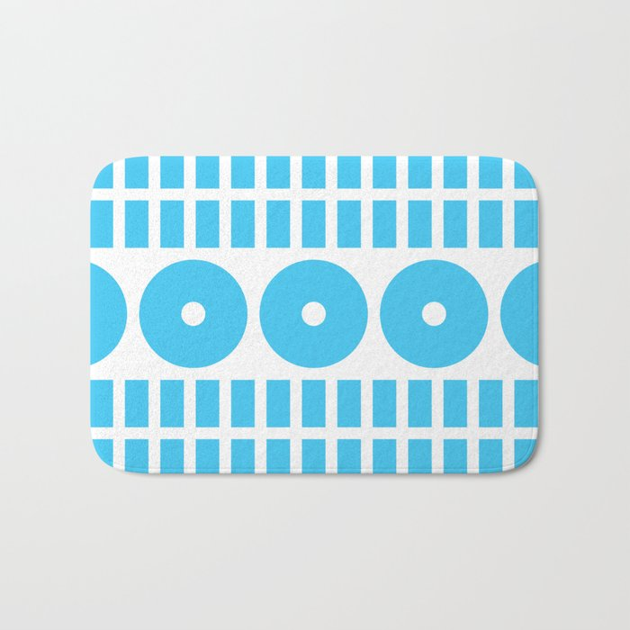 Geometry - Greece Bath Mat