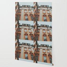 Pastel Prague Wallpaper