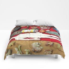 Beijing Flea Market Finds Comforters