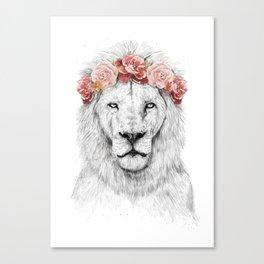 Festival lion Canvas Print