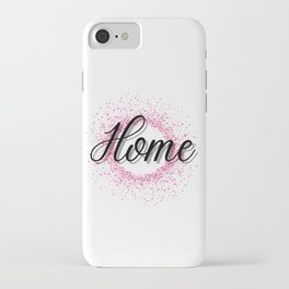 Home   Motivational   Family   Love   Friends   I'm home   My home iPhone Case