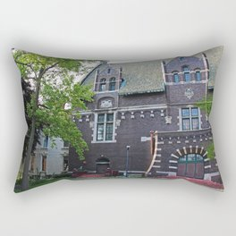 Old West End Mary Manse College Auditorium aka Lois Nelson Theater VI Rectangular Pillow