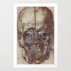 satisfaction. Art Print