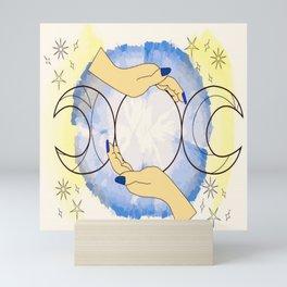Palms of Selene Mini Art Print