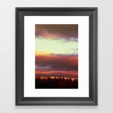 stumble in the morning Framed Art Print