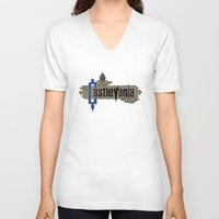 castlevania V-neck T-shirts featuring Castlevania by pixel.pwn | AK