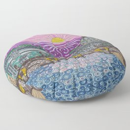roma caput mundi Floor Pillow