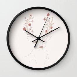 lana deer ray Wall Clock