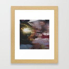 dimetiltriptamina Framed Art Print