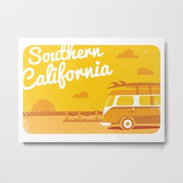 Southern California Metal Print