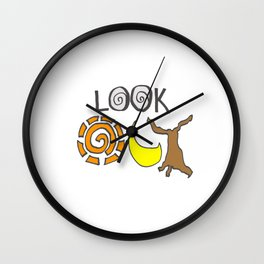 Look Out Wall Clock