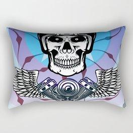 biker from hell Rectangular Pillow