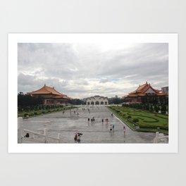 Taiwan Art Print