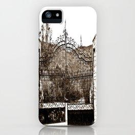 Old Gates iPhone Case