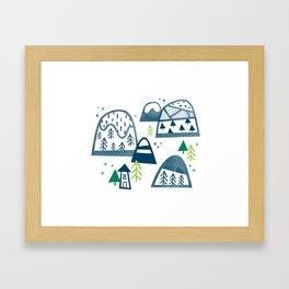Mountain Home Framed Art Print