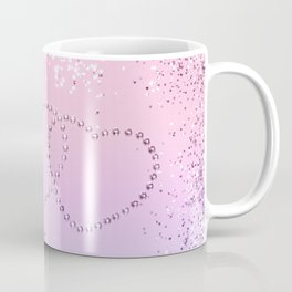 Unicorn Girls Glitter Hearts #2 #shiny #pastel #decor #art #society6 Coffee Mug
