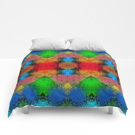 Colorful Goa Painting Comforters