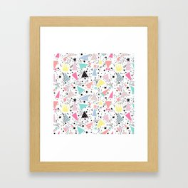 Bonetes Framed Art Print