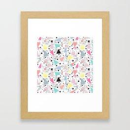 Bonetes Framed Art Print