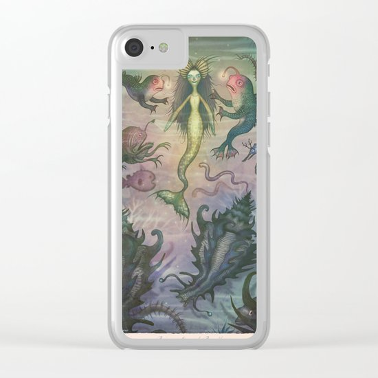 Rejuvenation of Rusalka Clear iPhone Case