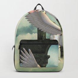 Cute little pegasus Backpack