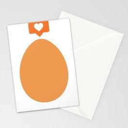 Instagram Egg Likes Photo Image Stationery Cards