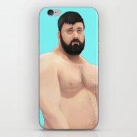 teddy bear iPhone & iPod Skins featuring Teddy by Mavekk