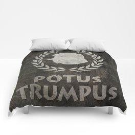 POTUS TRUMPUS Comforters