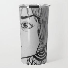 Outside Girl Travel Mug