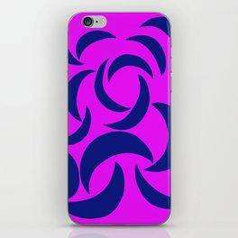 Many Moons - Purple iPhone Skin
