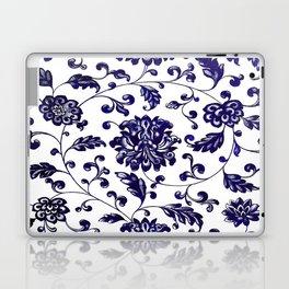 Chinese Floral Pattern Laptop & iPad Skin