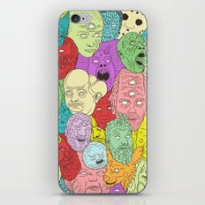 Faces of Math iPhone Skin