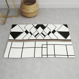 Mosaic +Minimal Rug