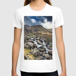 Glyderau Mountain Winter T-shirt