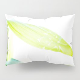 Green Bamboo Leaf Pillow Sham