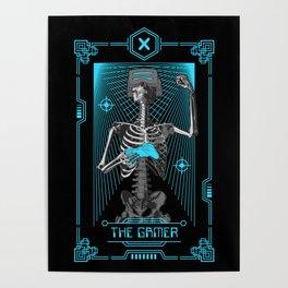 The Gamer X Tarot Card Poster