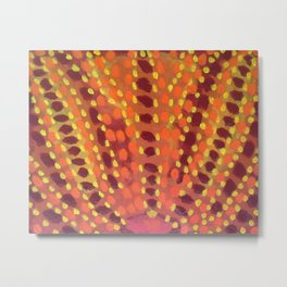 Fire and Flames Metal Print