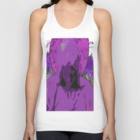 halo Tank Tops featuring Halo purple by Mylittleradical