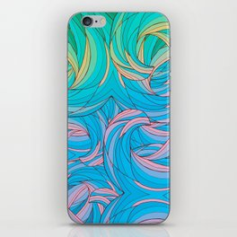 Sun Light Waves iPhone Skin