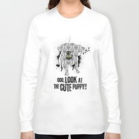 puppy Long Sleeve T-shirts featuring Puppy by ngboo