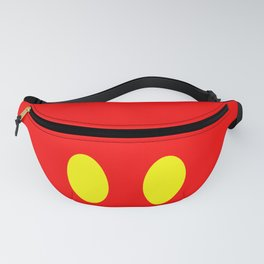 Polka Mouse Fanny Pack