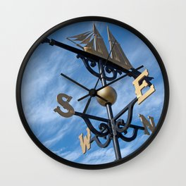 Where the Wind Blows Wall Clock