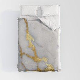 Italian gold marble II Duvet Cover